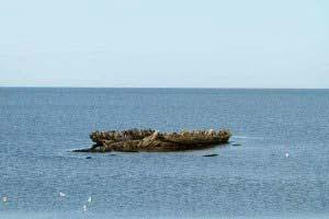 Schiffswrack Mariann